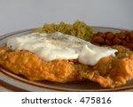 Chicken Fried Steak With Rice...