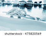 Close Up Nautical Knot Rope...