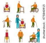illustration various degrees of ... | Shutterstock . vector #475840915