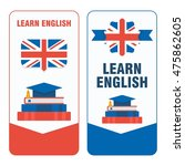 vector learning english... | Shutterstock .eps vector #475862605