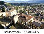 celano panoramic view in...   Shutterstock . vector #475889377