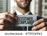 Stock photo customer complaints 475926961