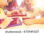 education  elementary school ... | Shutterstock . vector #475949107