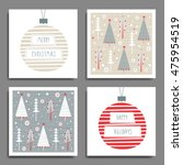creative hand drawn cards for... | Shutterstock .eps vector #475954519