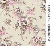 watercolor seamless pattern...   Shutterstock . vector #475973881