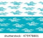 ocean seamless borders with... | Shutterstock .eps vector #475978801