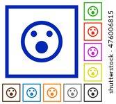 set of color square framed... | Shutterstock .eps vector #476006815