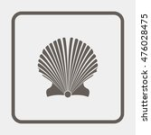 starfish icon. | Shutterstock .eps vector #476028475