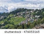 darjeeling town | Shutterstock . vector #476053165