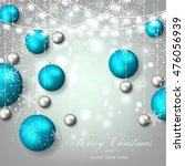 christmas  ball | Shutterstock .eps vector #476056939