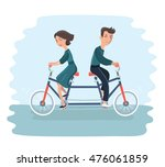 vector cartoon illustration of... | Shutterstock .eps vector #476061859