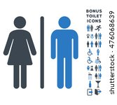 wc persons icon and bonus male... | Shutterstock . vector #476068639