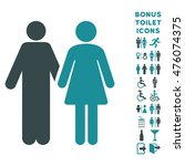 married couple icon and bonus... | Shutterstock . vector #476074375