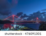 third bridge or yavuz sultan... | Shutterstock . vector #476091301
