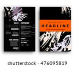 cover template with abstract... | Shutterstock .eps vector #476095819