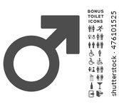 male symbol icon and bonus man... | Shutterstock . vector #476101525