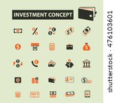 investment concept icons | Shutterstock .eps vector #476103601