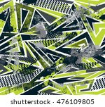 abstract seamless pattern for... | Shutterstock .eps vector #476109805