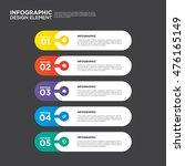 infographic business report... | Shutterstock .eps vector #476165149
