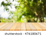 wood floor texture and bokeh...   Shutterstock . vector #476180671