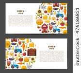 vector illustration with... | Shutterstock .eps vector #476186821