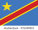 democratic republic of congo... | Shutterstock .eps vector #476189821