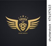 football logo template. | Shutterstock .eps vector #476197615