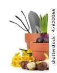Gardening Supplies With Flower...