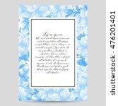 vintage delicate invitation... | Shutterstock .eps vector #476201401