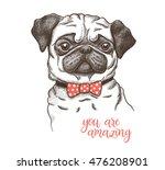 vector illustration of a hand... | Shutterstock .eps vector #476208901