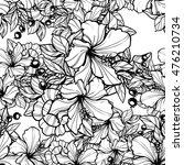 abstract elegance seamless... | Shutterstock .eps vector #476210734