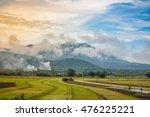 soft focus landscape of... | Shutterstock . vector #476225221