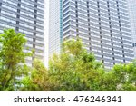 buildings and green shanghai... | Shutterstock . vector #476246341