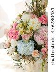 luxury wedding decorations of...   Shutterstock . vector #476280481