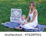 image of mother and newborn... | Shutterstock . vector #476289541