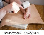 leathercraft   craftsman emboss ... | Shutterstock . vector #476298871