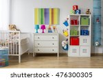 colorful baby room with a