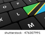 computer keyboard  close up... | Shutterstock . vector #476307991