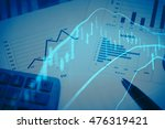 data analyzing in forex... | Shutterstock . vector #476319421