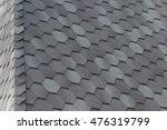 close up view on asphalt... | Shutterstock . vector #476319799
