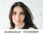woman portrait natural beautiful | Shutterstock . vector #476340805