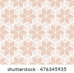 abstract geometric pattern with ... | Shutterstock . vector #476345935
