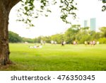 defocused bokeh background of... | Shutterstock . vector #476350345