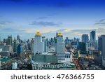 bangkok in the evening sunset....   Shutterstock . vector #476366755