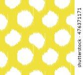 ikat bold dots vector seamless...   Shutterstock .eps vector #476371171