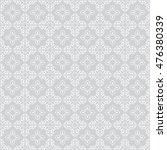 white ornament on gray... | Shutterstock .eps vector #476380339