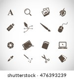 graphic designers tools icon... | Shutterstock .eps vector #476393239