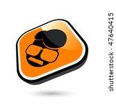modern cool man sign | Shutterstock .eps vector #47640415