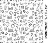 seamless pattern of business