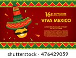 mexican translation of the... | Shutterstock .eps vector #476429059